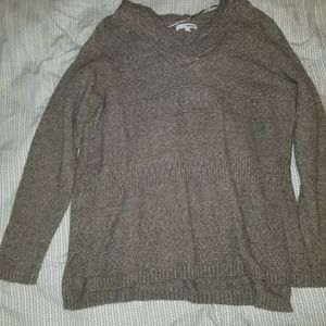 Sonoma hooded knit sweater